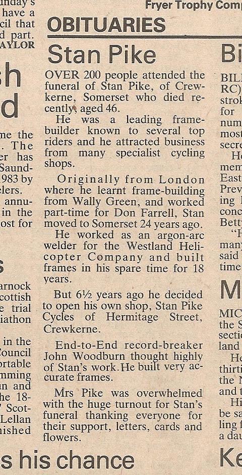November 1983 Cycling Mag