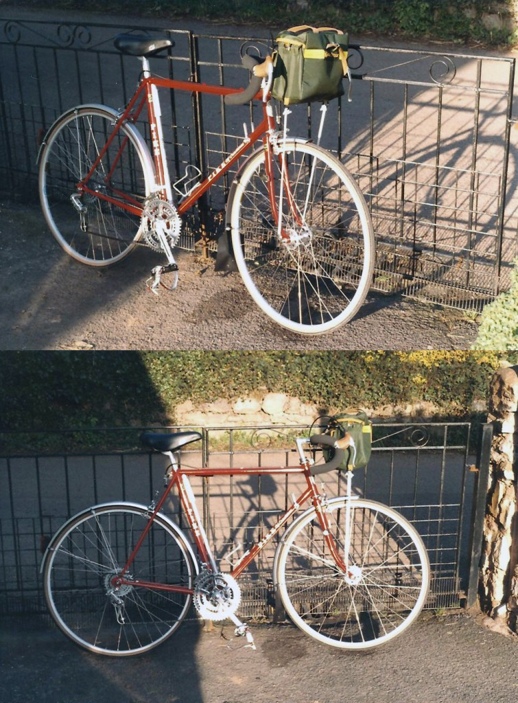 Judy's husband's bike.